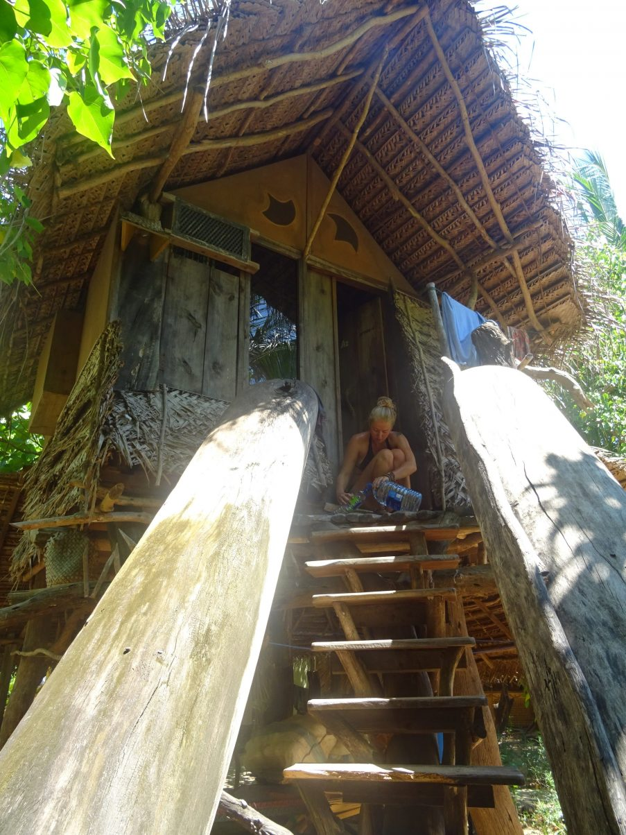 Treehouse accommodation in Sri Lanka