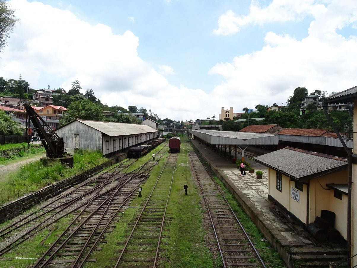 Hatton Train Station, Sri Lanka