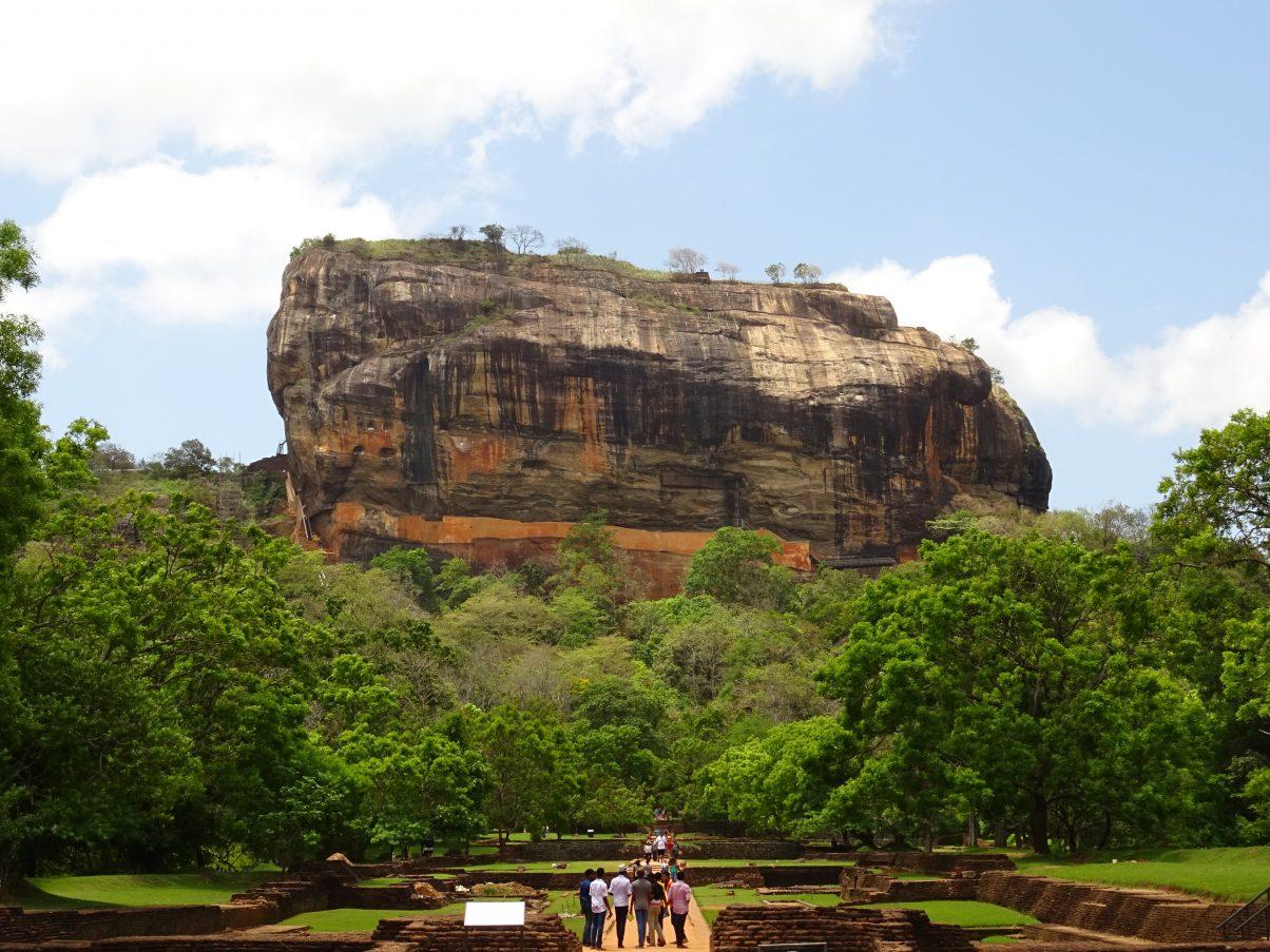 Sigiriya Rock, Sri Lanka Travel