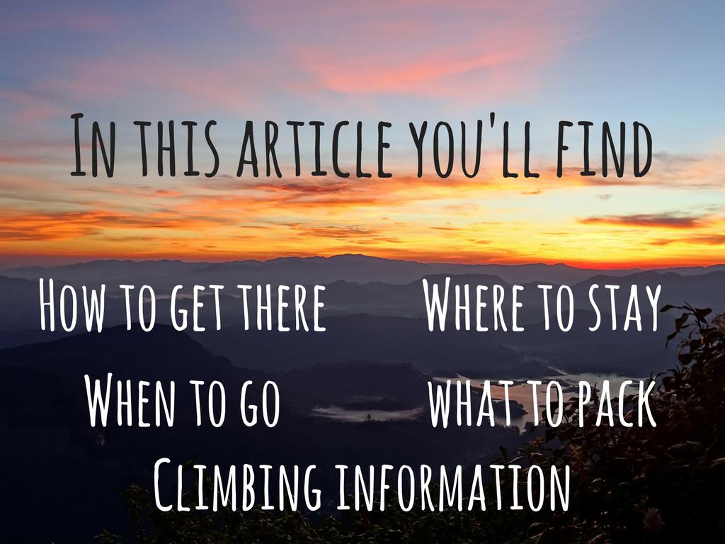 A Guide to Climbing Adam's Peak Guide