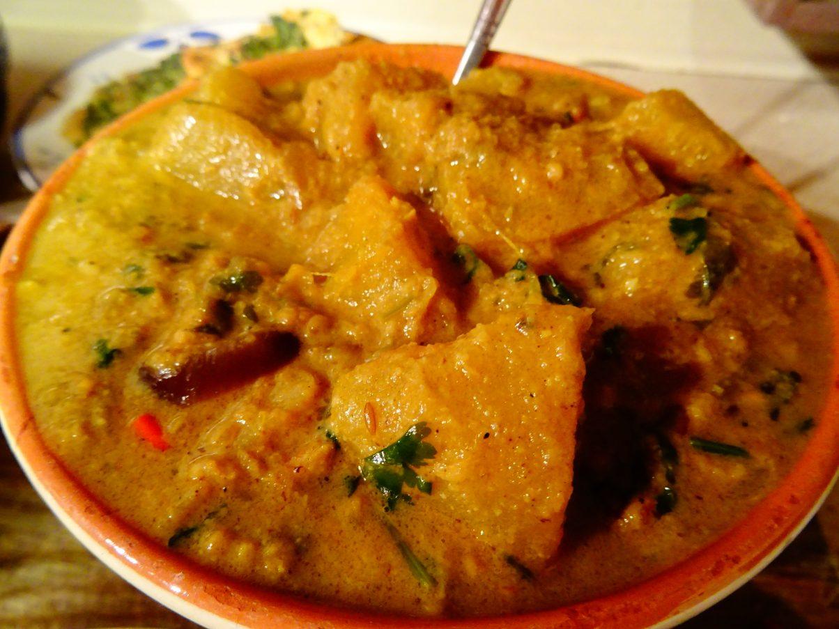 vegan pumpkin curry