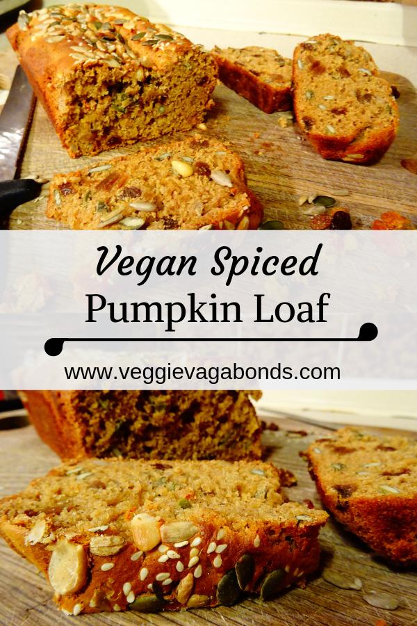 Vegan Spiced Pumpkin Loaf