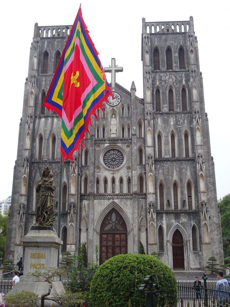 St. Joseph's church in Hanoi, Vietnam