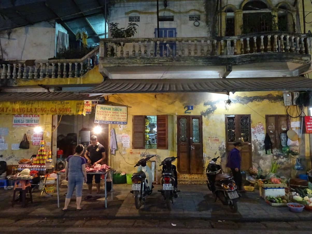 Hanoi Old Quarter at night!