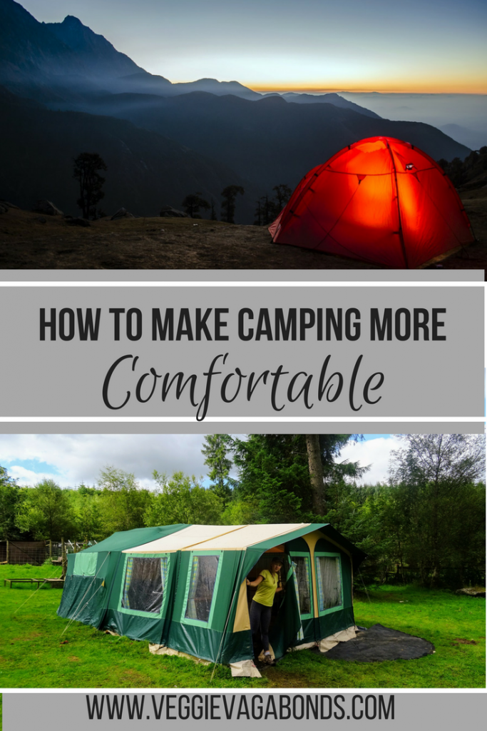 How to Make Camping More Comfortable