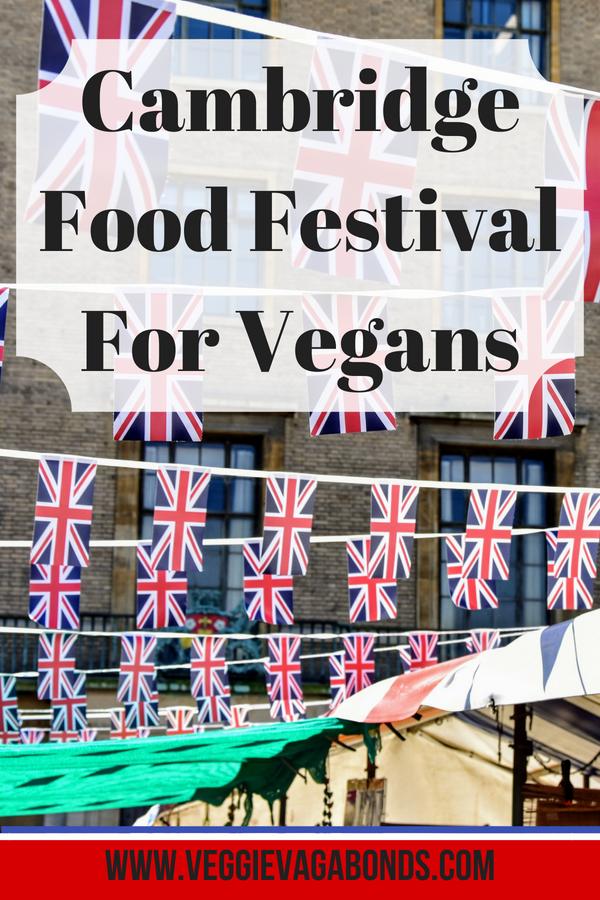 Vegan Adventures at Eat Cambridge Food Festival 2018