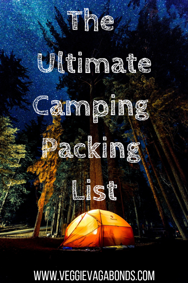 What to bring camping Pin