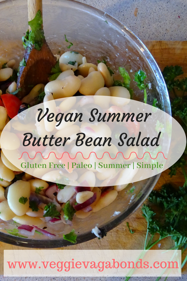 Butter Bean and Parsley Salad
