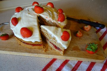 The Best Ever Vegan Victoria Sponge Cake