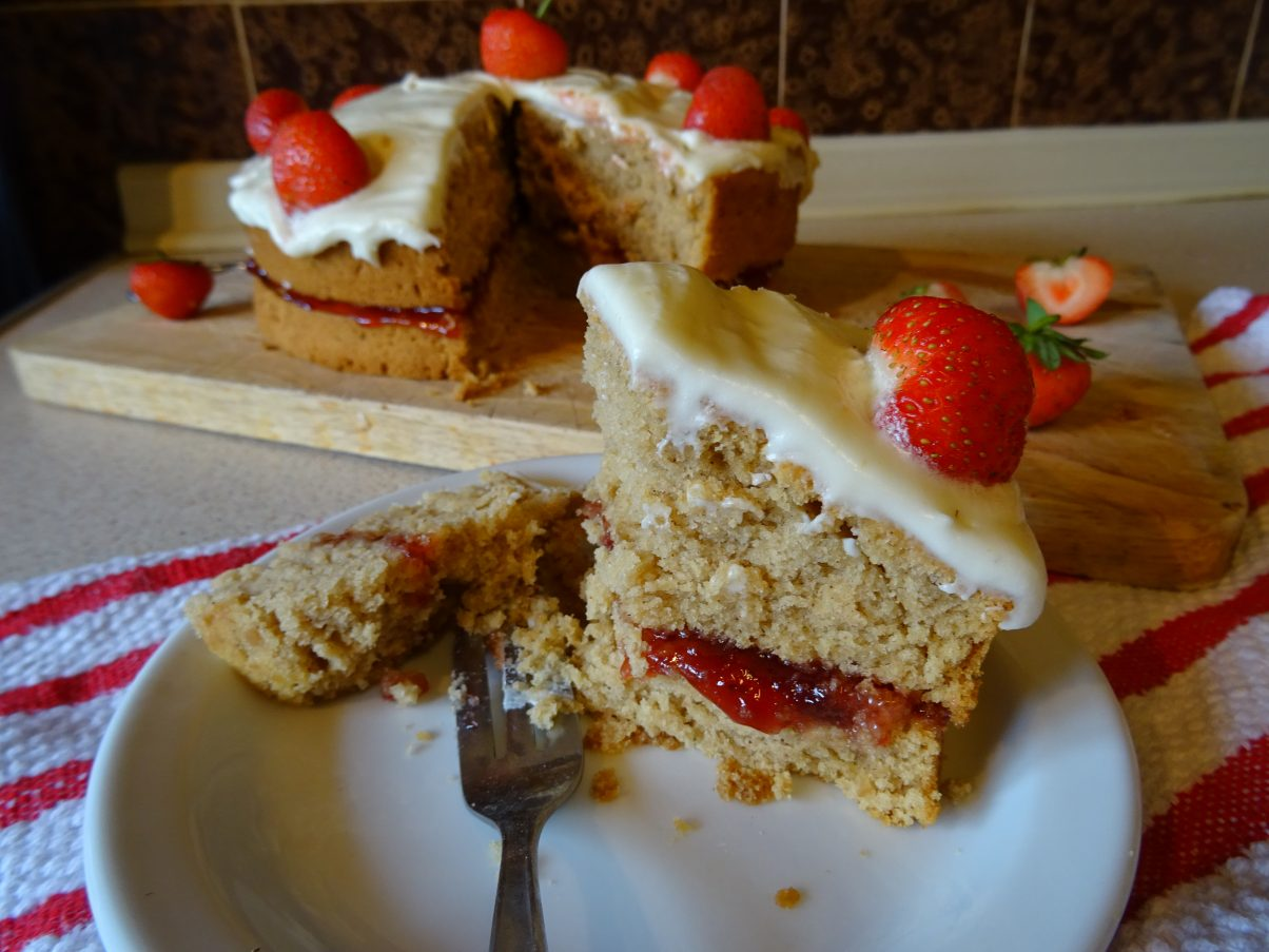 The Best Ever Vegan Victoria Sponge Cake