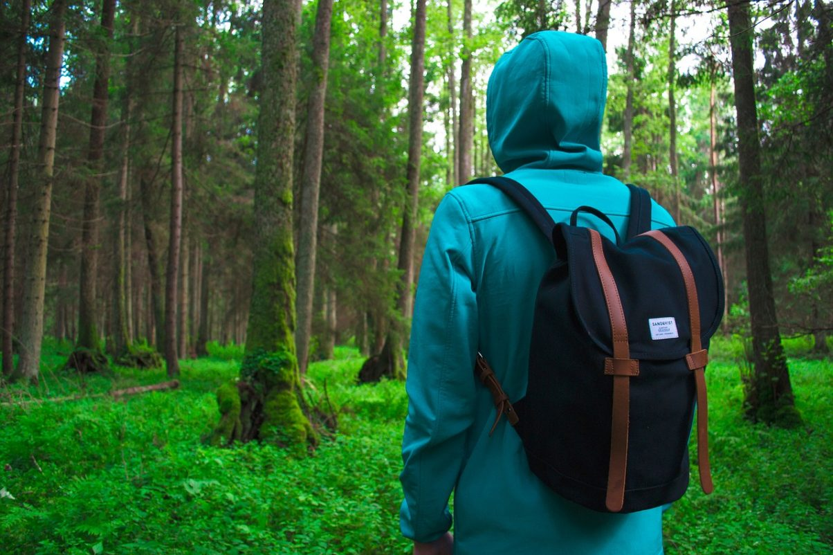 An outdoors fleece makes a perfect travel gift