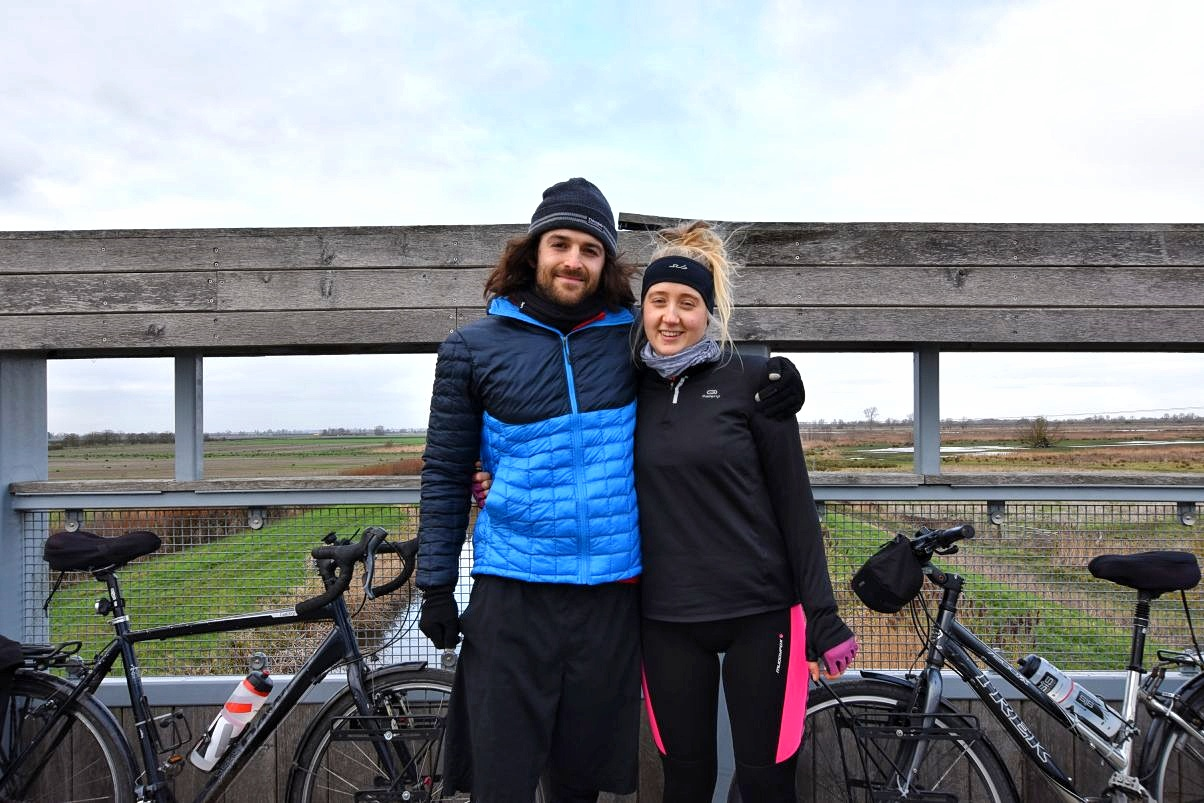 UK couple who stop flying and cycled around the world