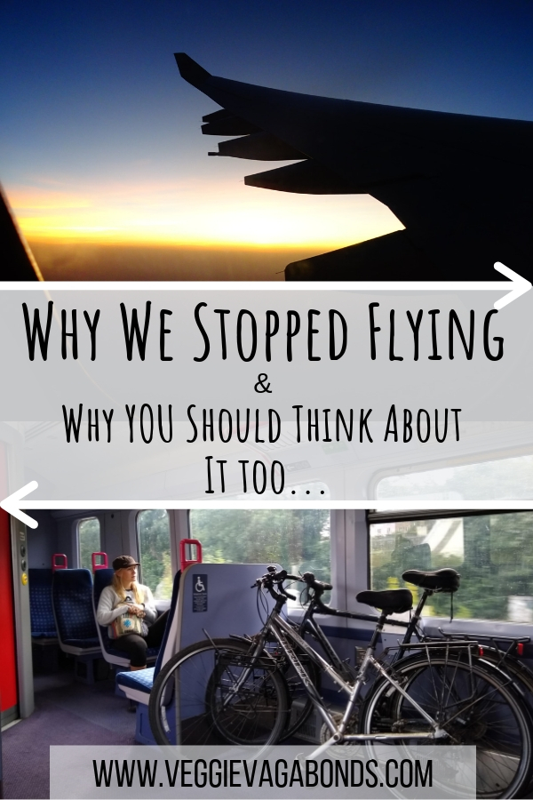 Why we decided to stop flying