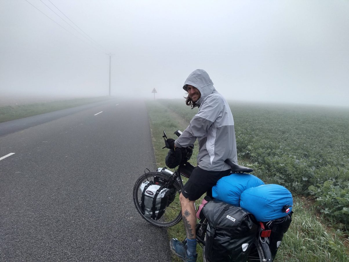 Cycling from England to France, our first 400 miles