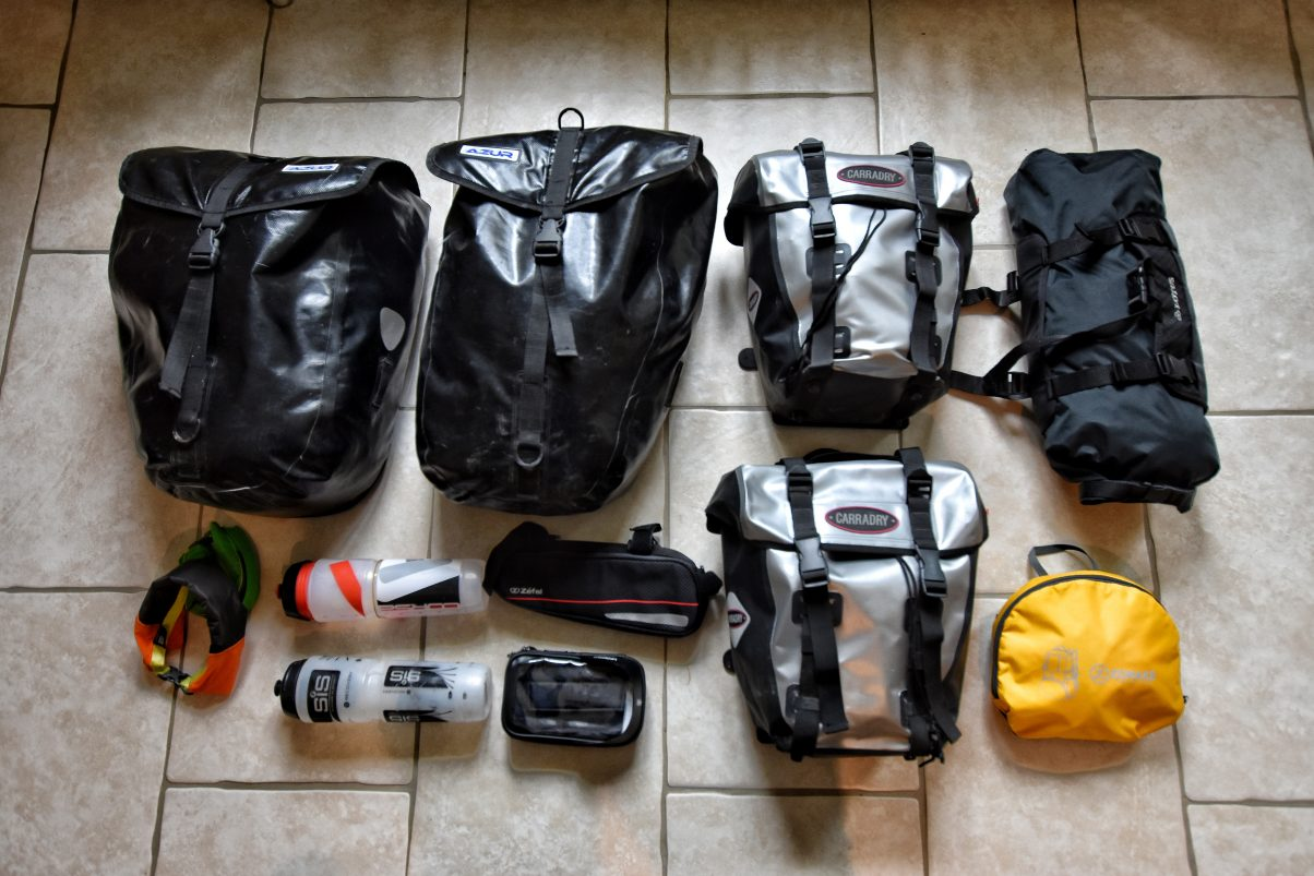 Our Complete England to India Bike Touring Packing List