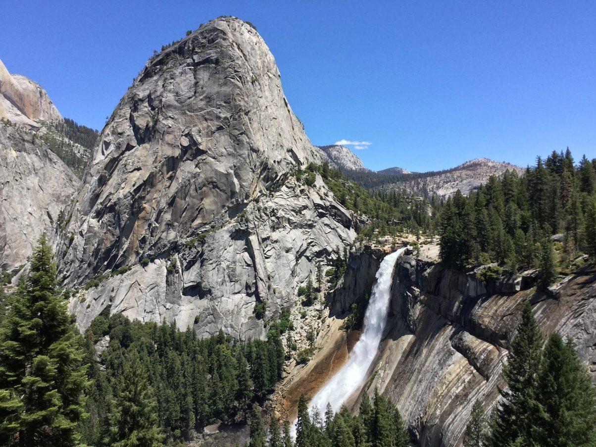 Mist trail, Yosemite National Park