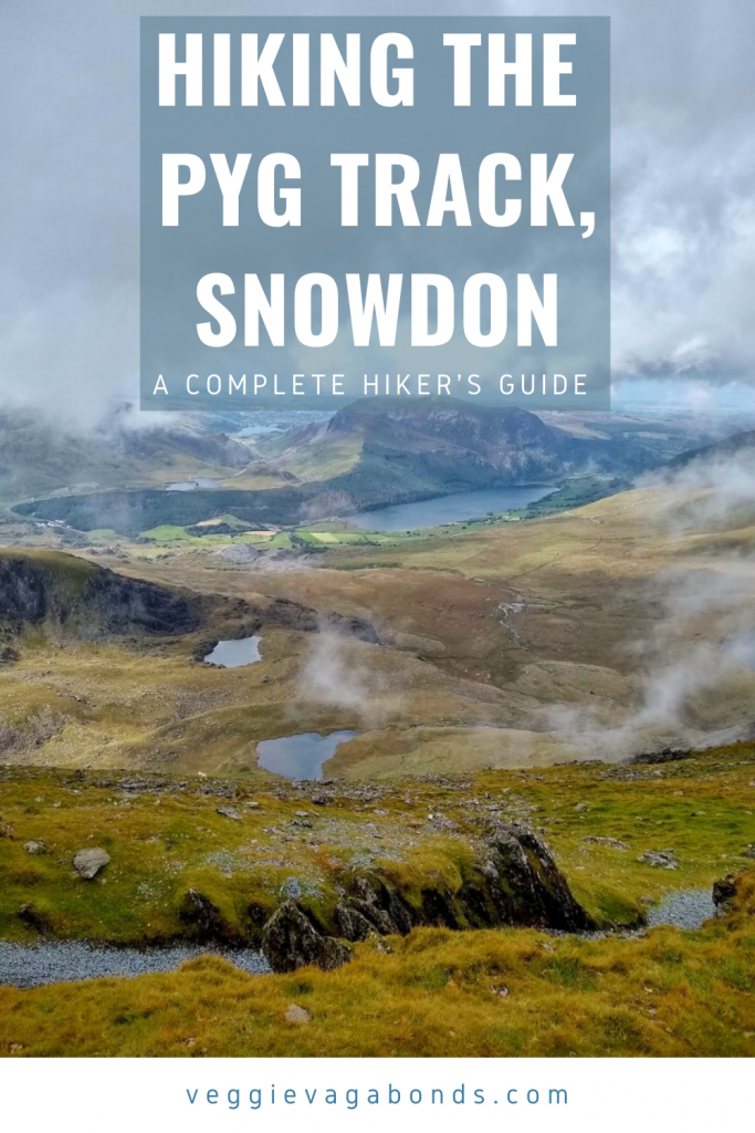 The pyg track, snowdon pin