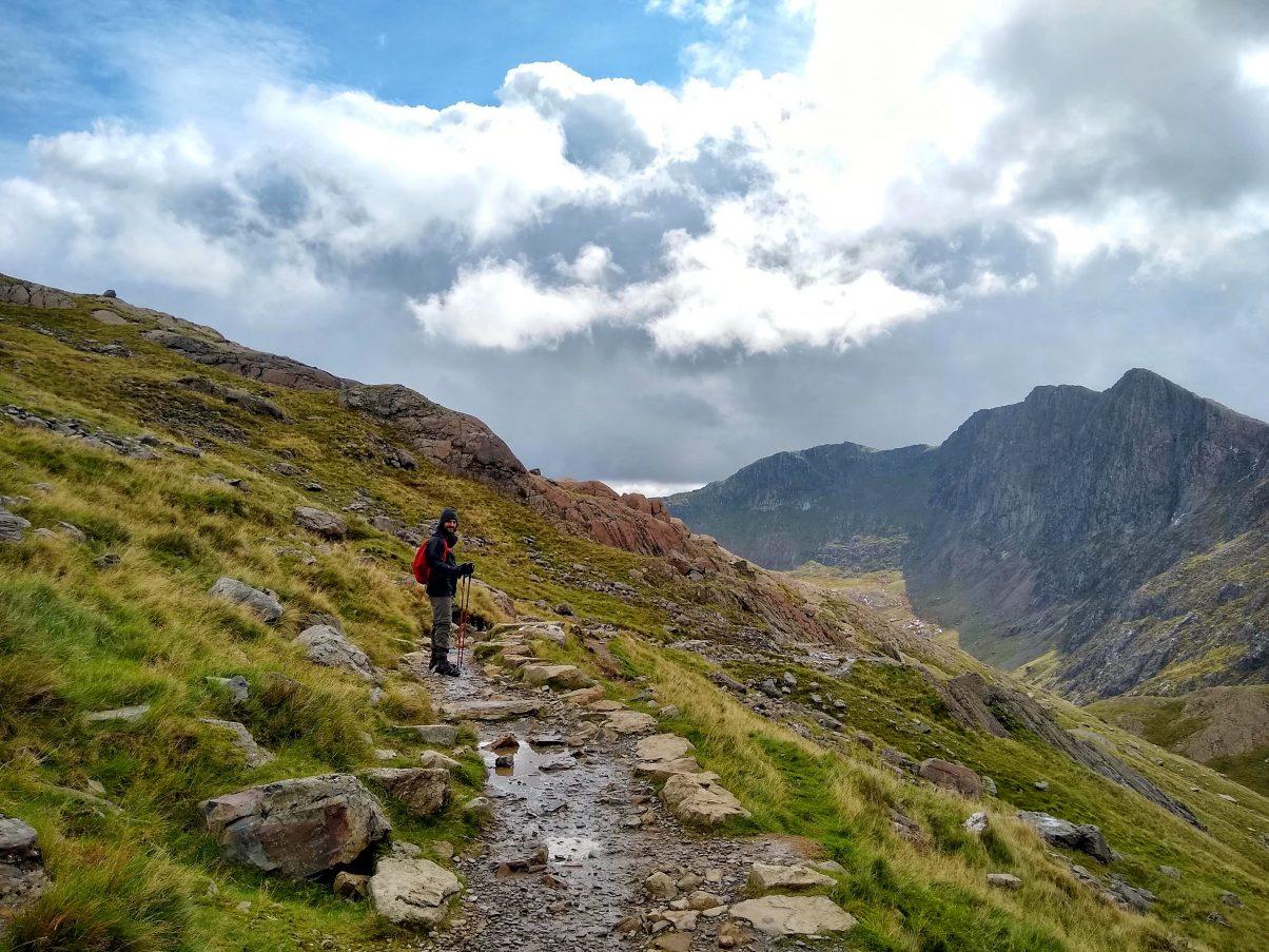 Hiking the Pyg Track Snowdon
