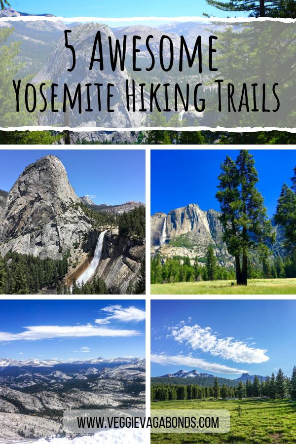 Yosemite Hiking Trails Pin
