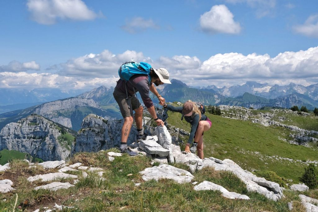 A sustainable hiking trip in the French Alps, Sous Dine