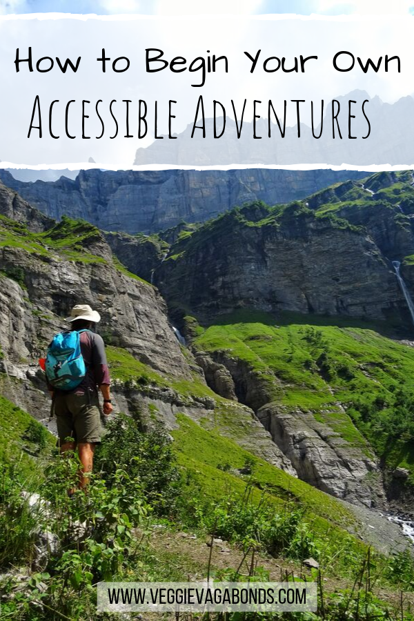 Accessible adventures pin