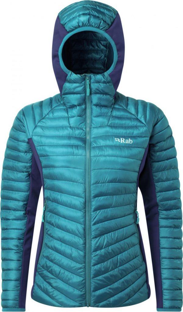 Rab women's insulated vegan winter jacket