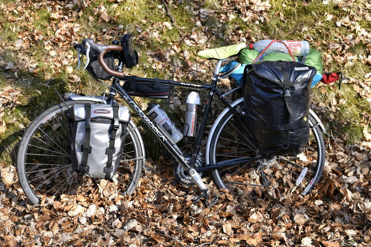 Bike touring gear