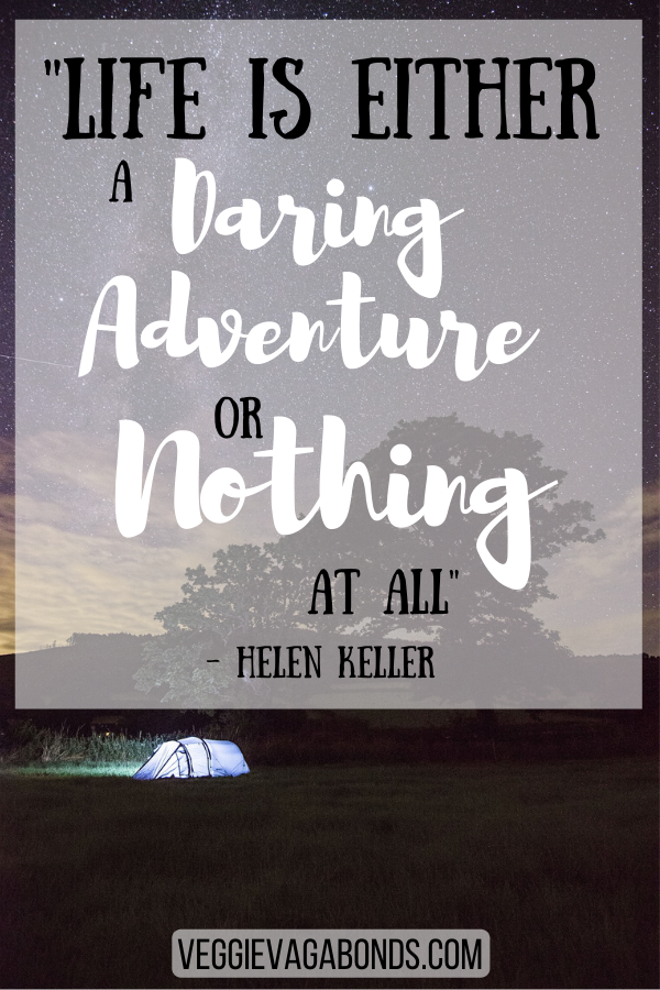 Helen Keller Adventure Inspiring Quote