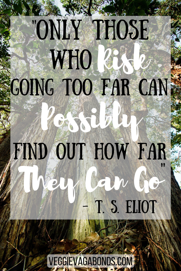 Only those who risk going too far can possibly find out how far they can go