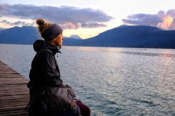 Girl on an ethical adventure
