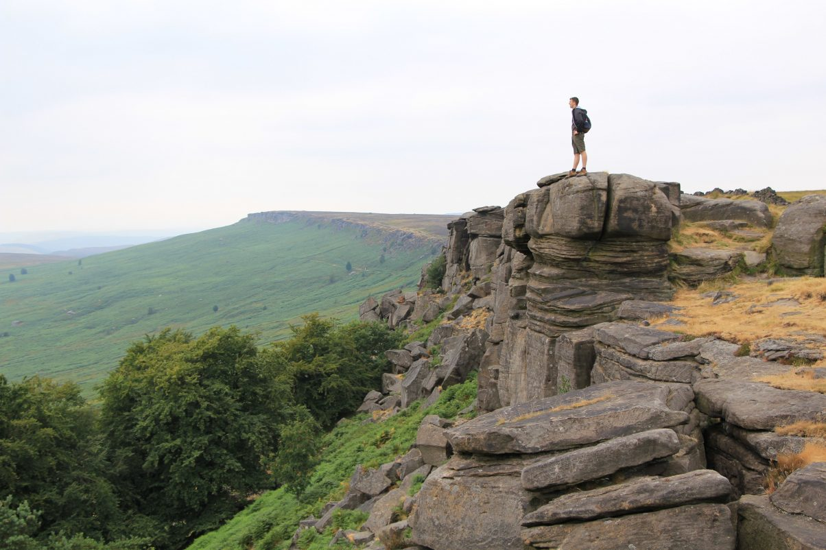 Stanage Edge Walk in the Peak District