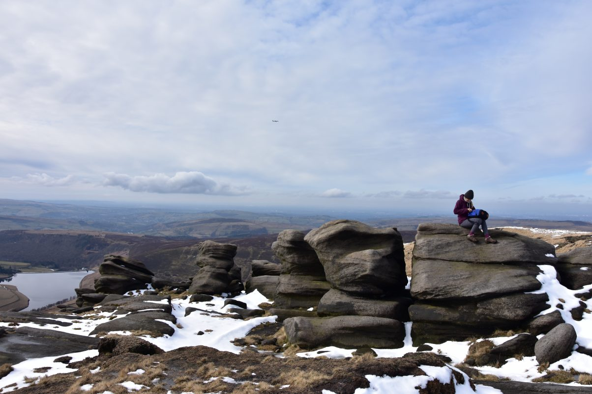 Kinder Scout in the Peak District