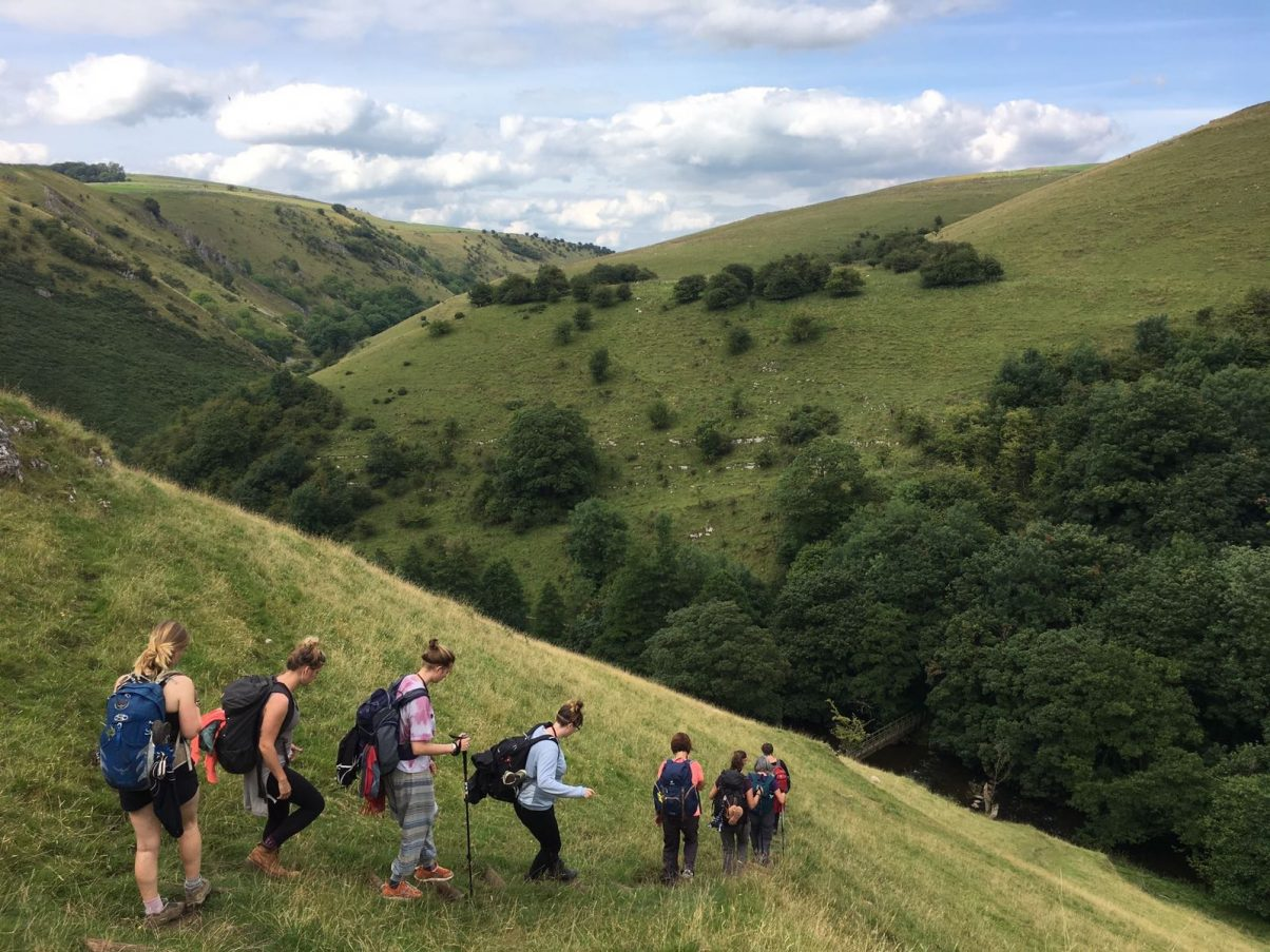 Peak Pilgrimage, a popular Peak District walks