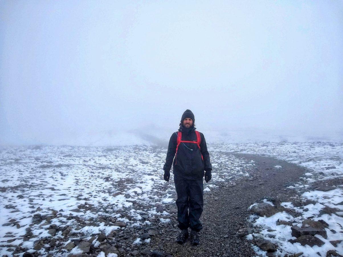 Ben Nevis foggy summit