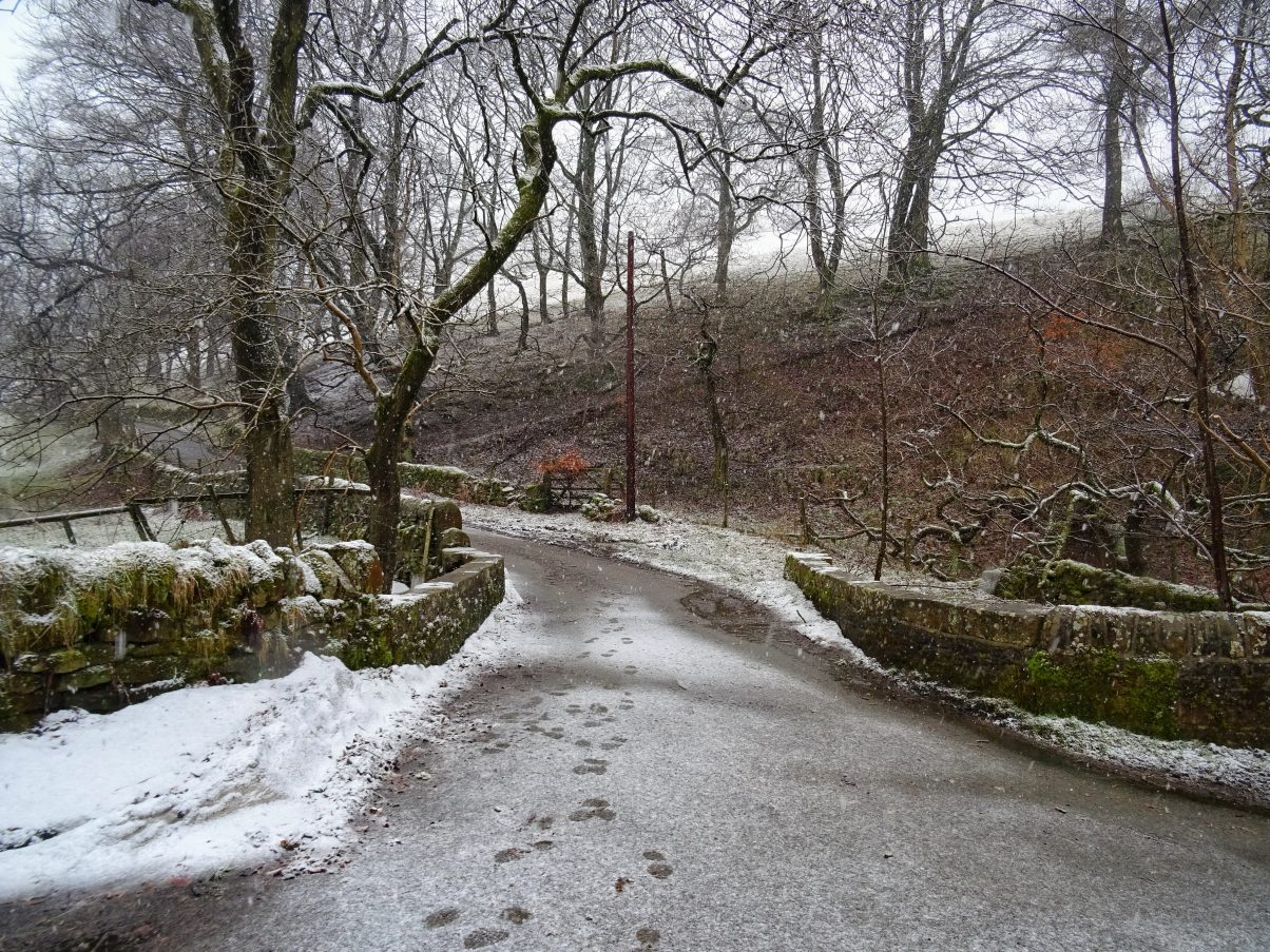 Long walks in Peak District in Winter