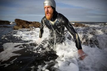 Swimming length of Britain, Sean Conway