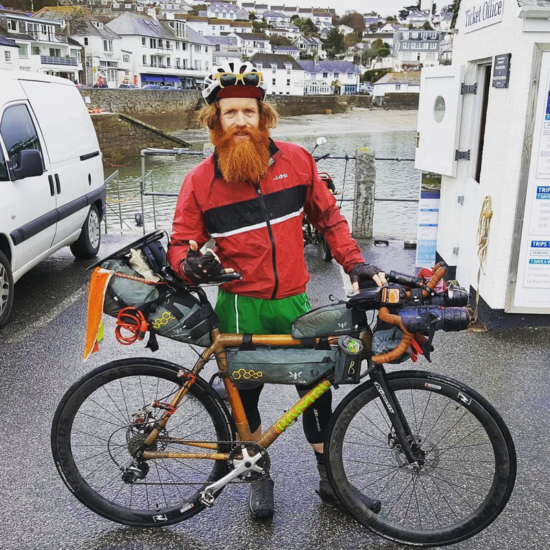 Sean Conway Round the World Cycle