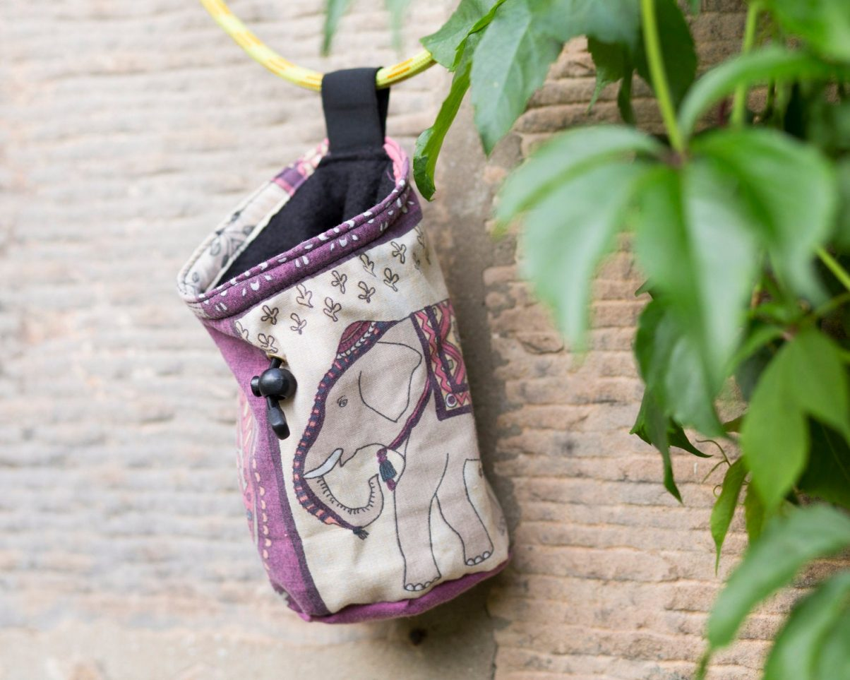 recycled chalk bag
