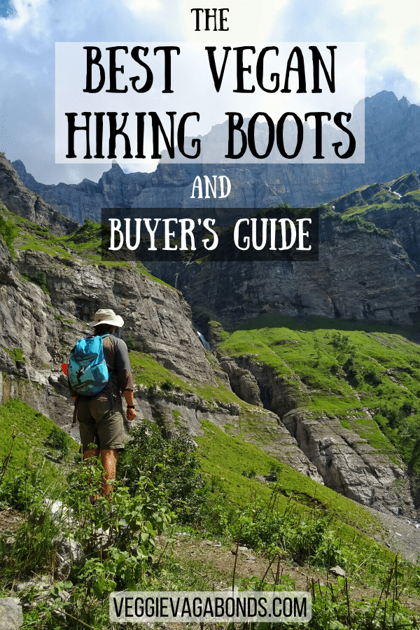 Vegan Hiking Boots Pin
