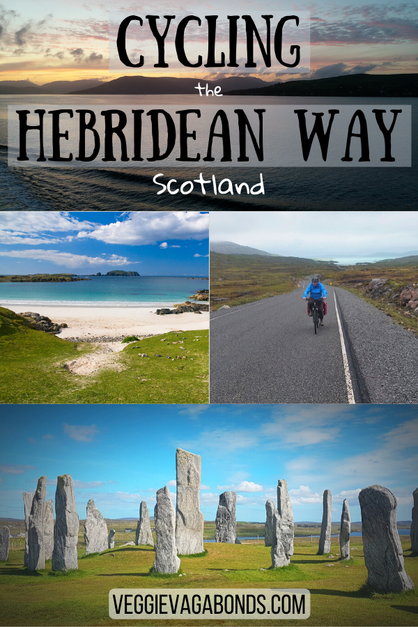Cycling the Hebridean Way Pin