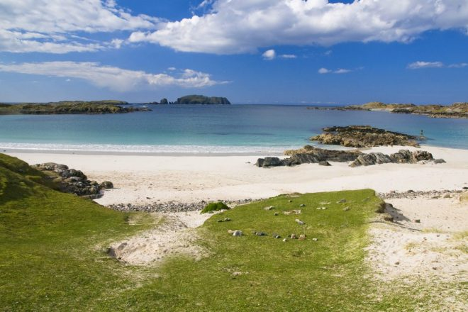 Stunning beaches in the Hebrides