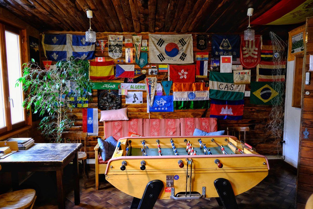 Hostel in Chamonix