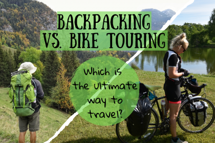 Bike touring Vs. Backpacking