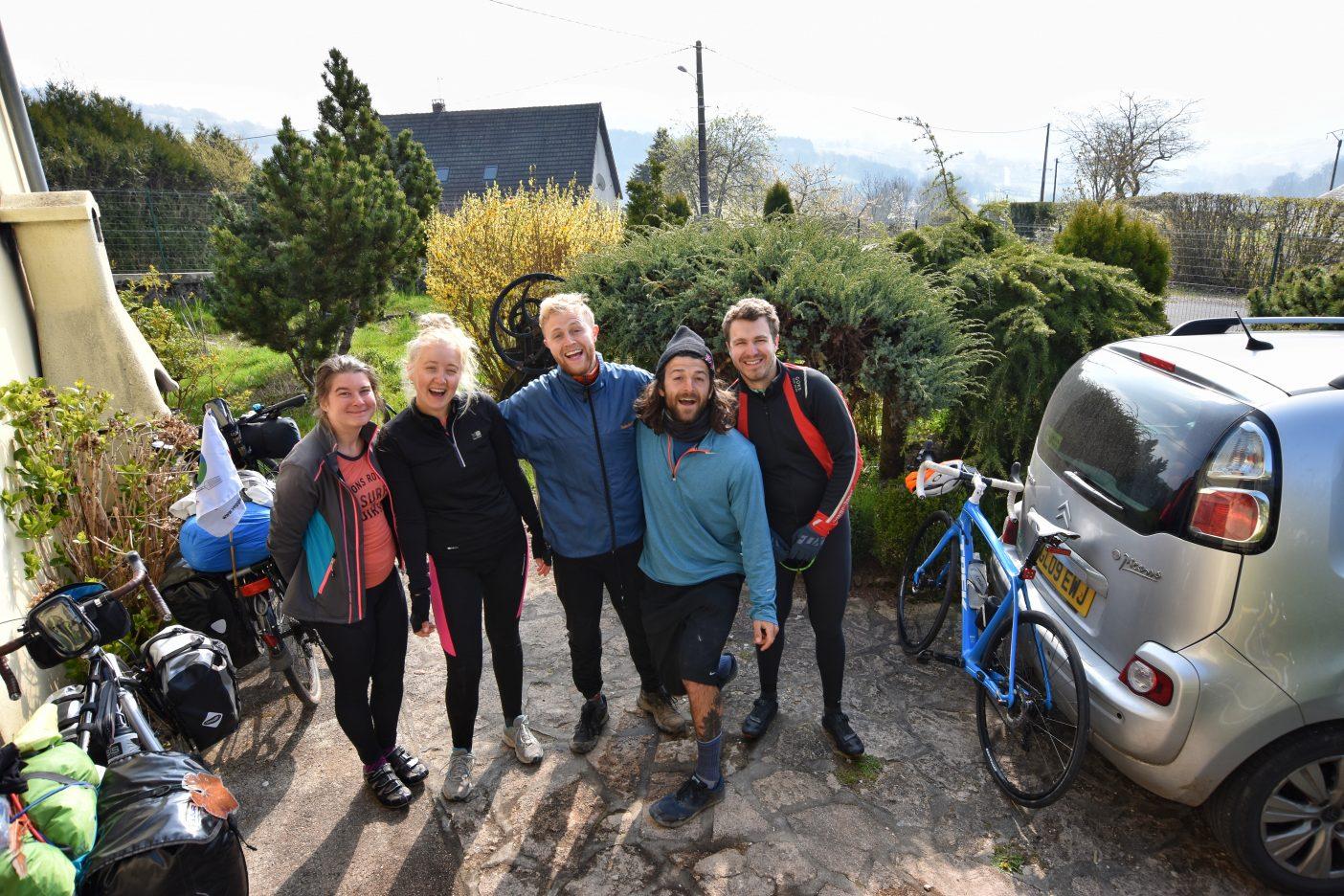 Warm Shower bike touring hosts