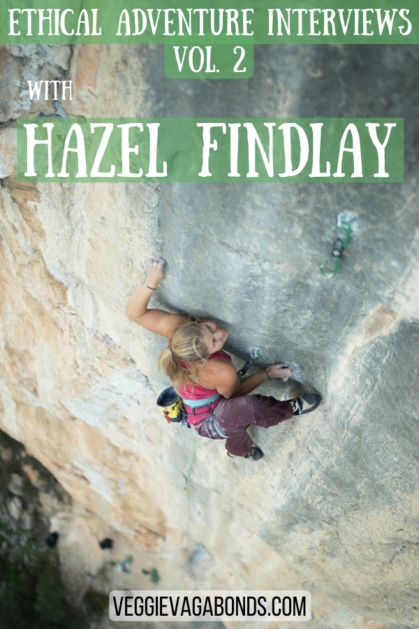 Hazel Findlay Interview Pin