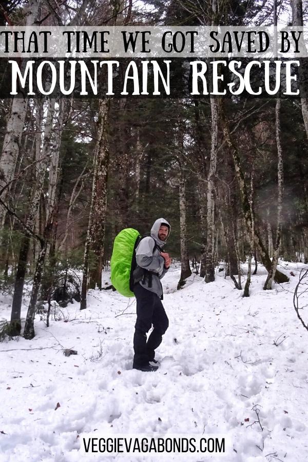 Mountain rescue pin