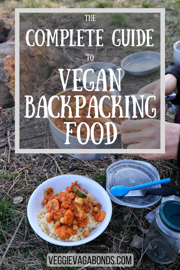 Vegan Backpacking Food Pin