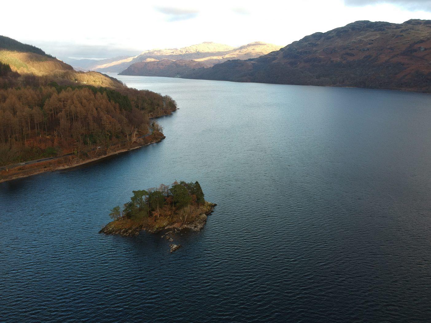 Wild camping Loch Lomond