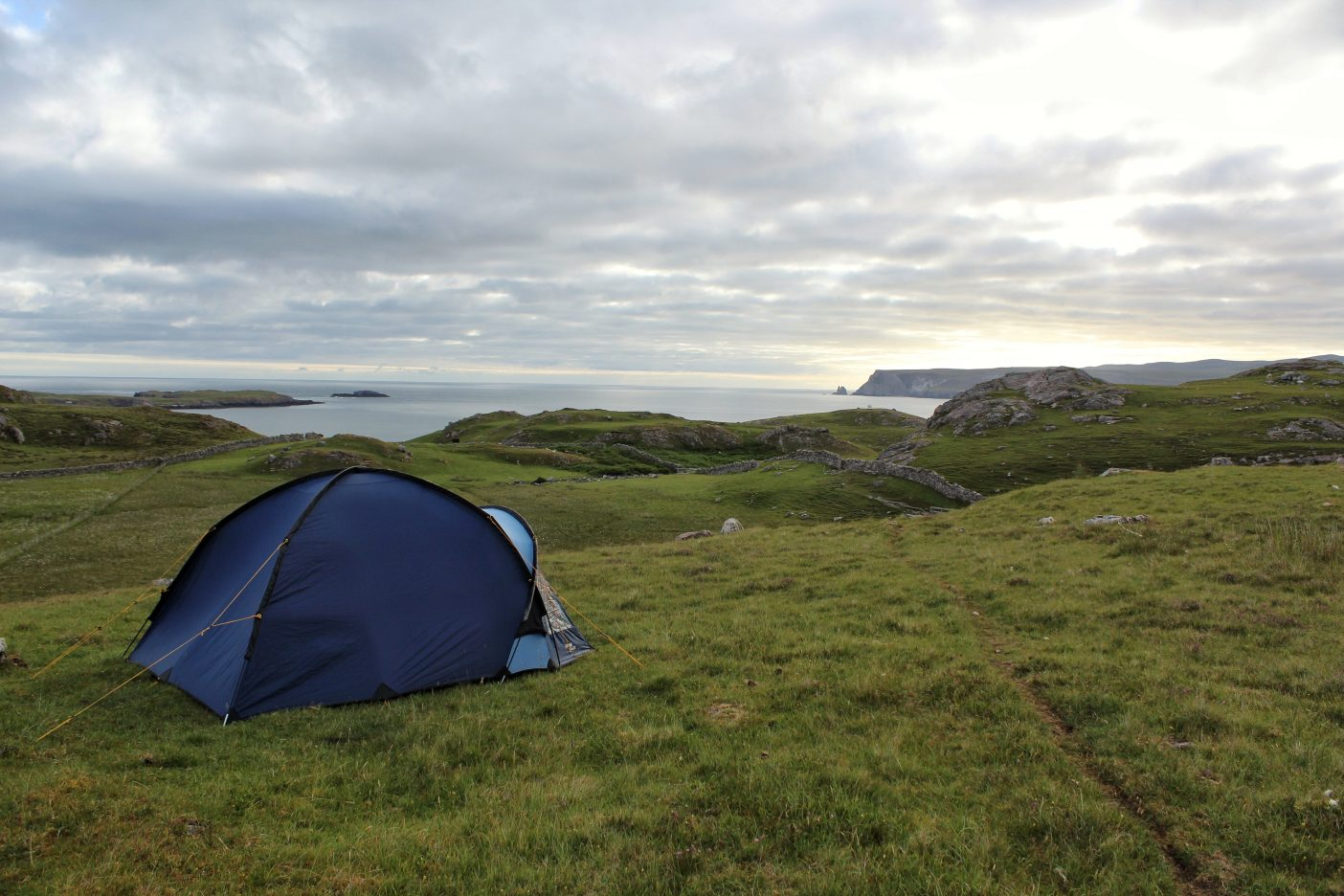 Wild camping on the NC500, Campervan Scotland