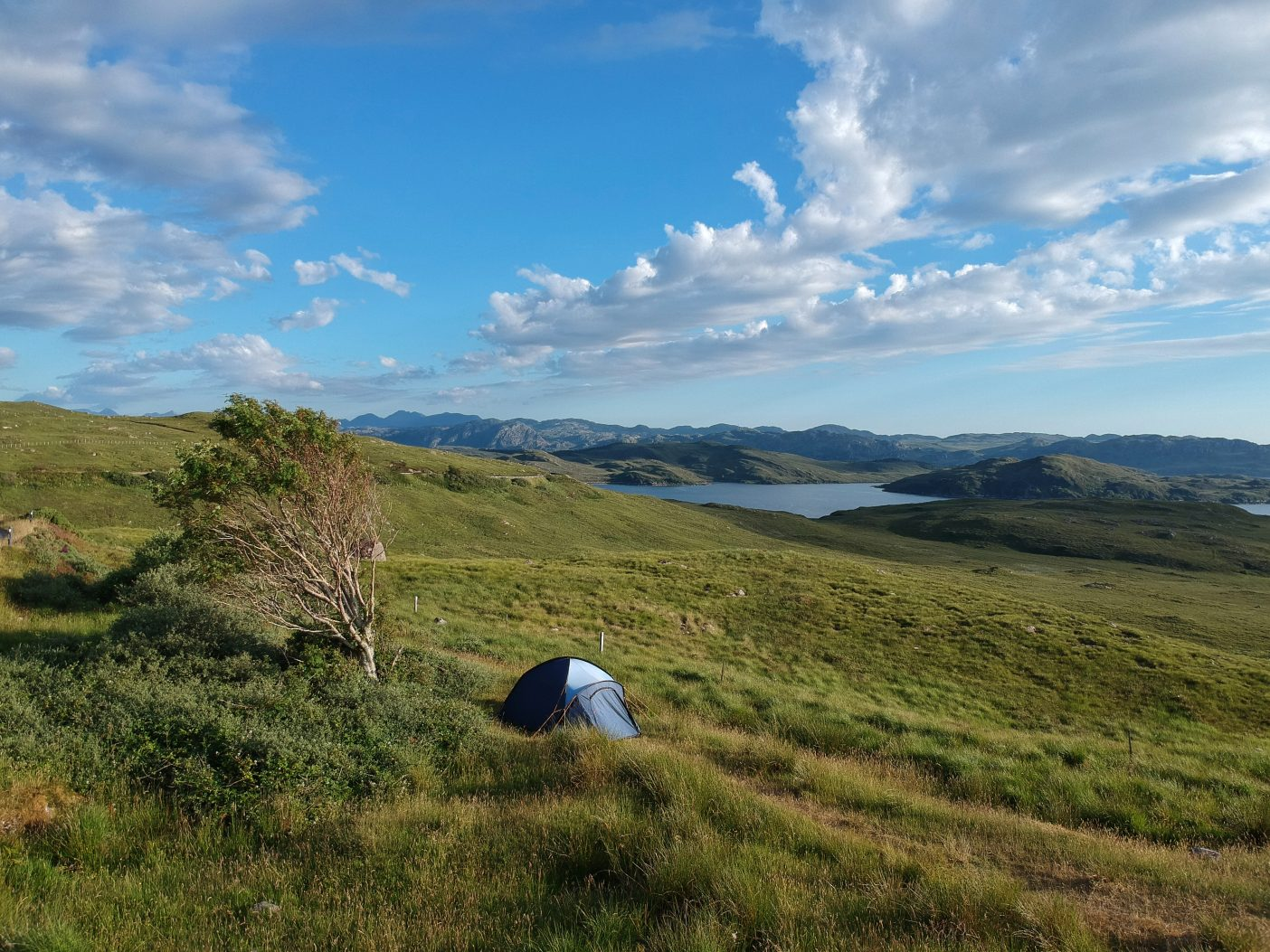 One of the best wild camping spots in Scotland